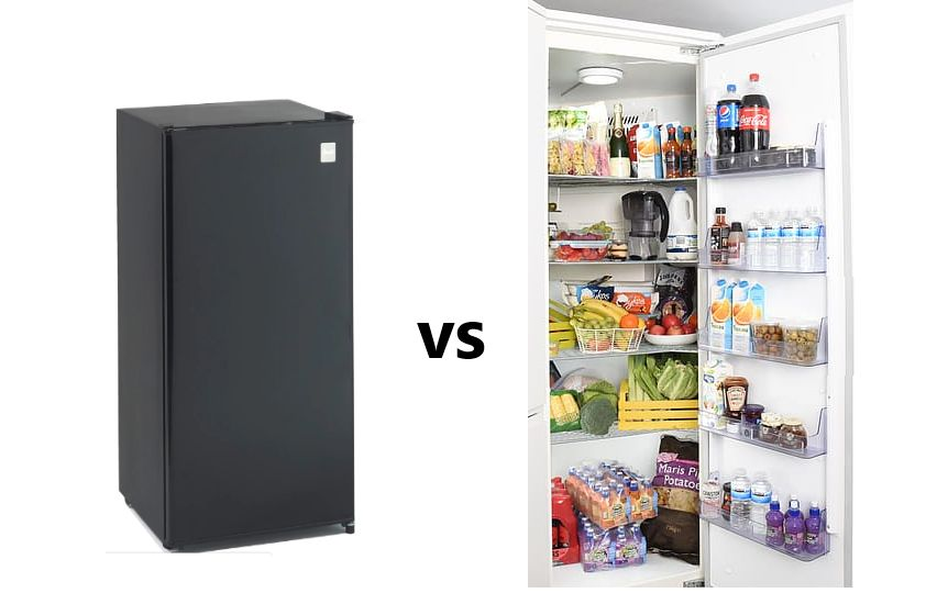 Difference Between Direct Cool vs Frost Free Refrigerator
