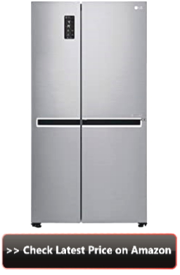 lg 687  side by side refrigerator